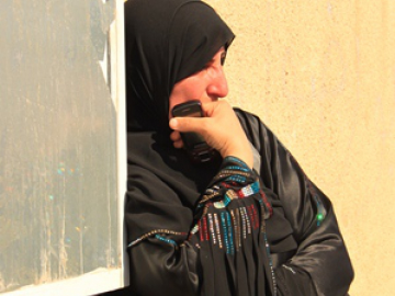 A woman leans against a wall in devastation after discovering her loved one has not been included in the swap. The prisoner swap does not make life any easier for the 5,000 Palestinian prisoners left in Israeli prisons, 9 of whom are women. They continue to be subjected to grave violations of international law which include being denied rights such as to legal advice or a fair trial, to adequate cell conditions and treatment, and to family visits. This is also a hard thing for their family members to contend with, who are often left feeling powerless.