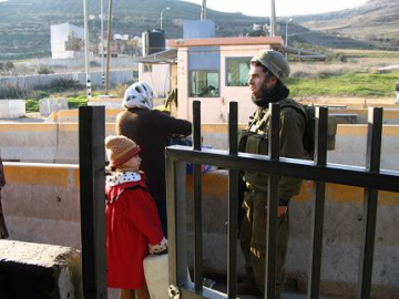 Checkpoints are one of the many forms of movement restrictions that prevent Palestinians to move freely to school, university or even a hospital in case of emergency.