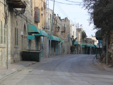 The extent of oppression and settler violence within Hebron has had a significant impact upon the incomes of Palestinians. Military orders have closed over 500 shop units, with many more following due to people being too scared to shop within the vicinity of the Old City which is one of the hardest hit areas.
